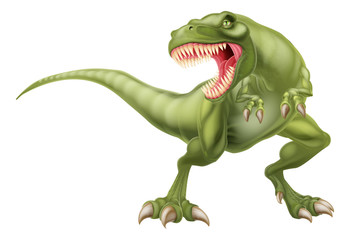 T Rex Dinosaur Illustration