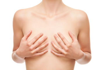 Breast cancer healthcare and medical concept