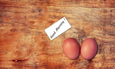 eggs closeup
