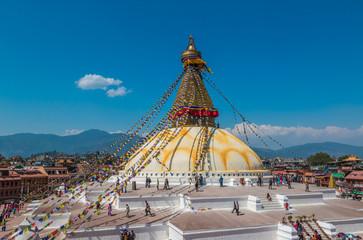 Bouddhanath Temple in Kathmandu Nepal