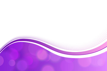Background abstract violet circle lines wave