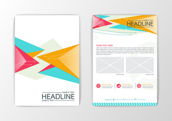 Abstract Background modern Triangle design, Business Corporate