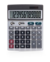 Calculator, Solar Panel, Single Object.
