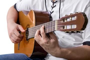 Guitar, Guitarist, Acoustic Guitar.