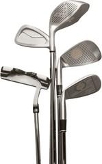 Golf, Golf Club, Isolated.