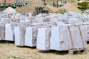 Granite building blocks