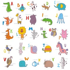 ABC zoo vector design