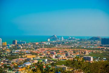 View of the sea. Thailand.Hua Hin.