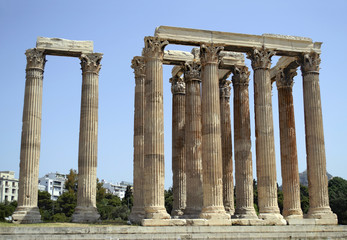 ancient in Athens Greece