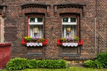Obraz Nikiszowiec - fototapety do salonu