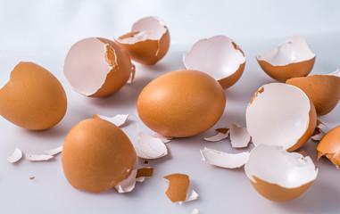 Unbroken egg