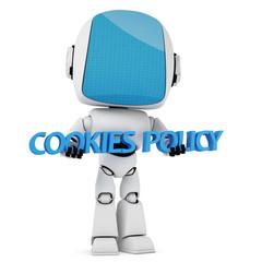 Cookies Law Concept.