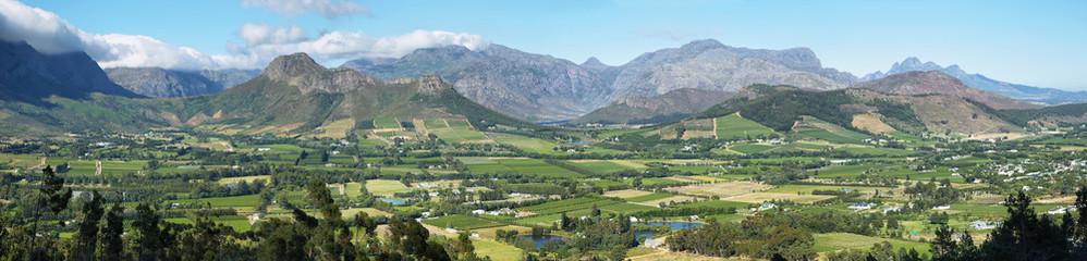 Views from Franschhoek Pass
