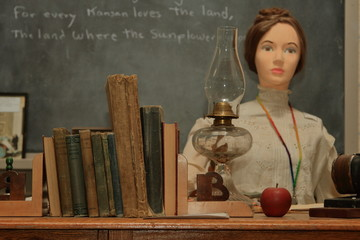 One Room Schoolhouse Display