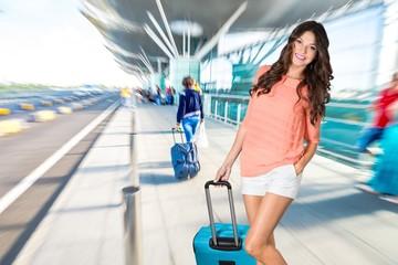Travel, traveler, bag.