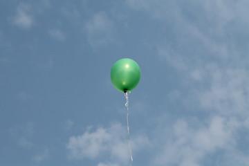 palloncino cielo blu