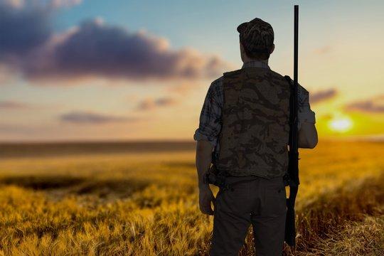 Hunting, hunter, shooting sports.