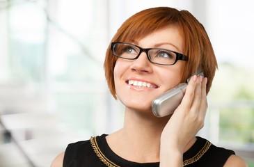 On The Phone, Women, Black.