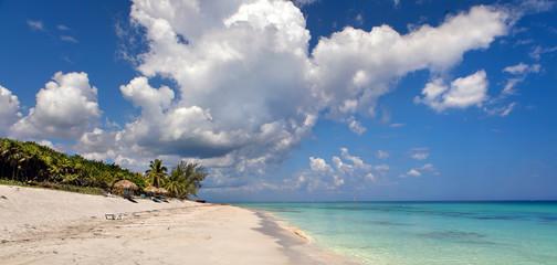 Beautiful view of the Atlantic Ocean, Varadero, Cuba