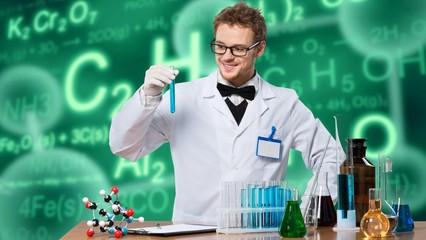 Scientist, test, chemist.