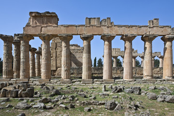Libya, archaeological site of Cyrene, the Zeus temple