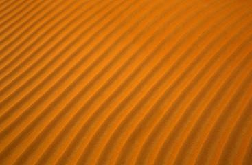 Perfect wavy sand