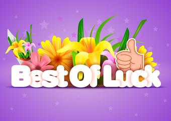 Best of Luck wallpaper background