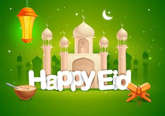 Happy Eid wallpaper background