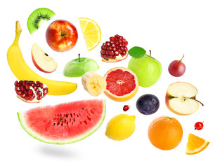 Ñolor fruits and berries