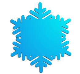 froid surgelé flocon bleu