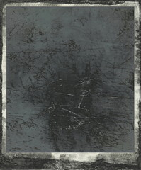 old grunge blank photo frame background