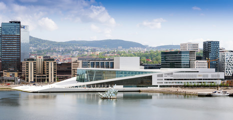 he Oslo Opera House is the home of The Norwegian National Opera