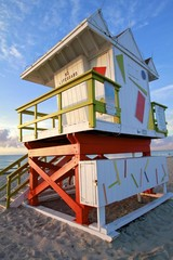 South Beach Lifeguard post, Art Deco