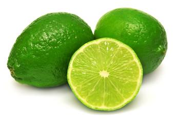 Citrus lime fruit slice