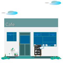 カフェ(カフェテリア)、喫茶店、