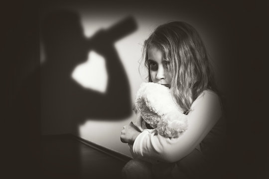 Violence in an alcoholic family