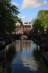 Panorami ed immagini di Amsterdam e della campagna attorno