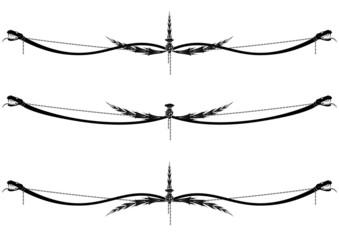 set of dragons vignettes