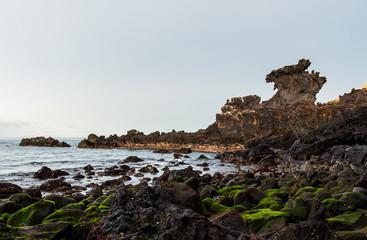Dragon Head Rock in Jeju Island, South Korea
