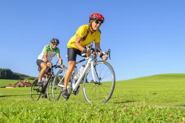 Ausfahrt mit dem Rennrad