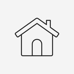 web home line icon