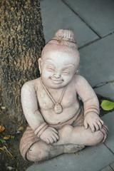 Smiling Child Sculpture