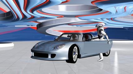 Robotergesteuertes Fahrzeug