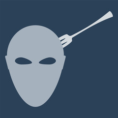 head with Fork
