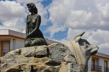 Fotomurales - Cabeza del Buey, Badajoz, España, Fuente de la Jacinta