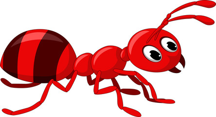 red ant cartoon