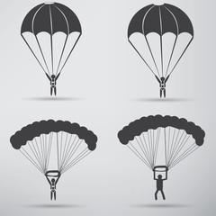 Parachute Icon design