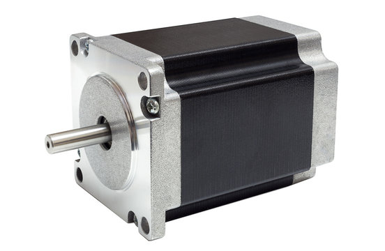 Stepper motor of CNC linear axis drive of 3D machine
