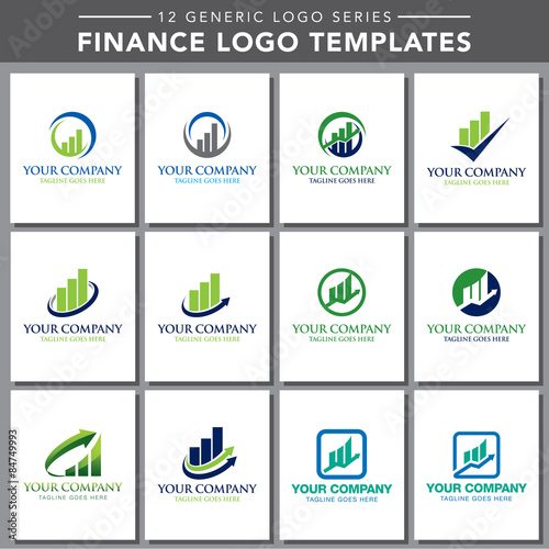 Generic Logo Series Finance Logo Templates Stock Image And - Generic company logo free