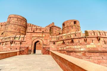 Agra Fort, Agra, Uttar Pradesh, India Wall mural